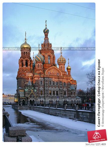 Купить «Санкт-Петербург. Собор Спаса на Крови», фото № 221469, снято 3 января 2005 г. (c) Александр Секретарев / Фотобанк Лори