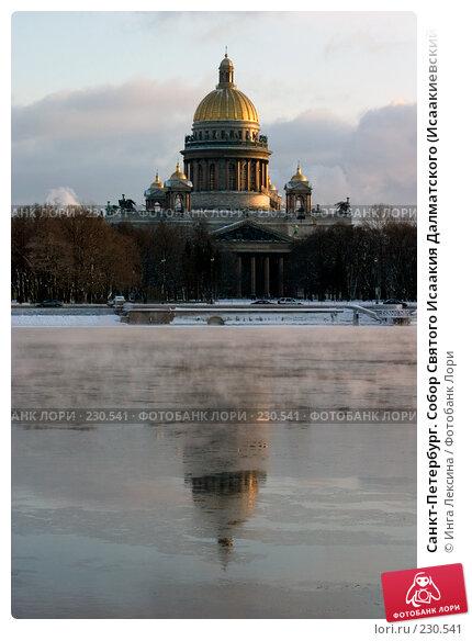 Санкт-Петербург. Собор Святого Исаакия Далматского (Исаакиевский собор)., фото № 230541, снято 5 февраля 2006 г. (c) Инга Лексина / Фотобанк Лори