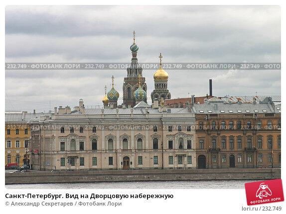 Санкт-Петербург. Вид на Дворцовую набережную, фото № 232749, снято 10 мая 2005 г. (c) Александр Секретарев / Фотобанк Лори
