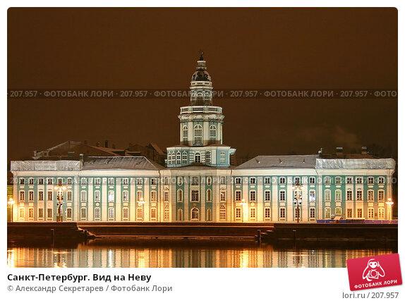 Санкт-Петербург. Вид на Неву, фото № 207957, снято 17 декабря 2005 г. (c) Александр Секретарев / Фотобанк Лори