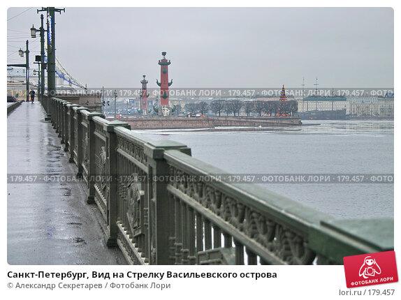 Санкт-Петербург, Вид на Стрелку Васильевского острова, фото № 179457, снято 16 января 2008 г. (c) Александр Секретарев / Фотобанк Лори