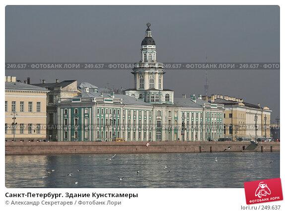 Санкт-Петербург. Здание Кунсткамеры, фото № 249637, снято 5 апреля 2008 г. (c) Александр Секретарев / Фотобанк Лори