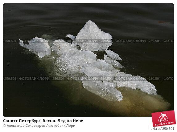 Санктт-Петербург. Весна. Лед на Неве, фото № 250501, снято 5 апреля 2008 г. (c) Александр Секретарев / Фотобанк Лори