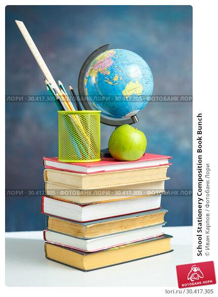 School Stationery Composition Book Bunch. Стоковое фото, фотограф Иван Карпов / Фотобанк Лори