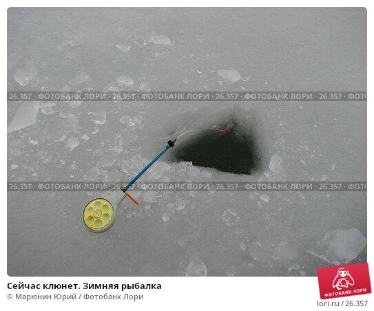Купить «Сейчас клюнет. Зимняя рыбалка», фото № 26357, снято 3 января 2007 г. (c) Марюнин Юрий / Фотобанк Лори