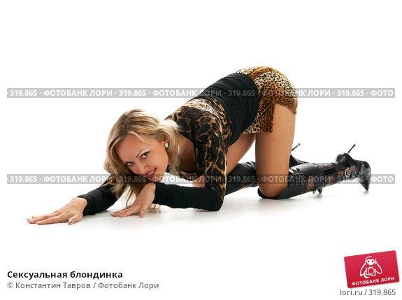 Сексуальная блондинка, фото № 319865, снято 10 октября 2007 г. (c) Константин Тавров / Фотобанк Лори