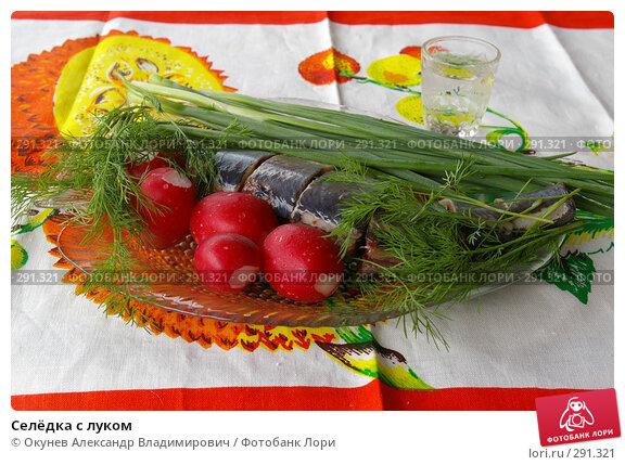 Селёдка с луком, фото № 291321, снято 18 мая 2008 г. (c) Окунев Александр Владимирович / Фотобанк Лори