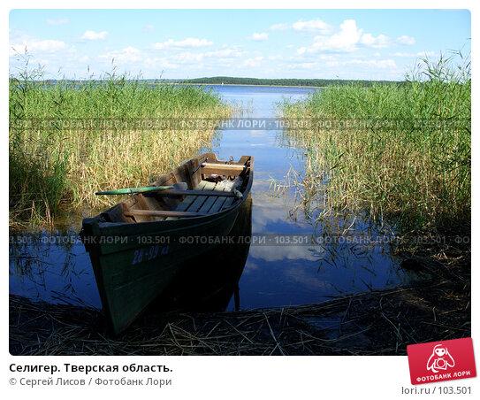 Селигер. Тверская область., фото № 103501, снято 22 февраля 2017 г. (c) Сергей Лисов / Фотобанк Лори