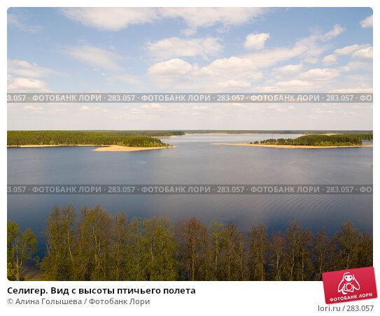 Селигер. Вид с высоты птичьего полета, эксклюзивное фото № 283057, снято 10 мая 2008 г. (c) Алина Голышева / Фотобанк Лори