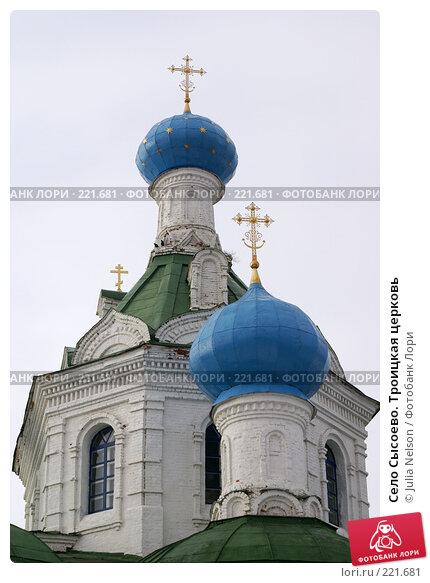 Село Сысоево. Троицкая церковь, фото № 221681, снято 12 февраля 2008 г. (c) Julia Nelson / Фотобанк Лори
