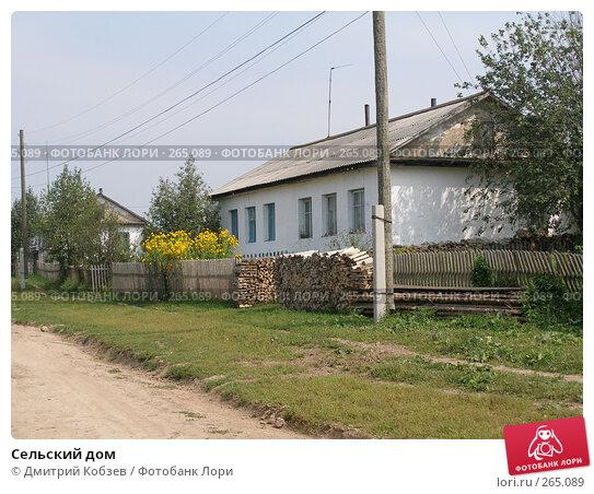 Сельский дом, фото № 265089, снято 12 августа 2005 г. (c) Дмитрий Кобзев / Фотобанк Лори