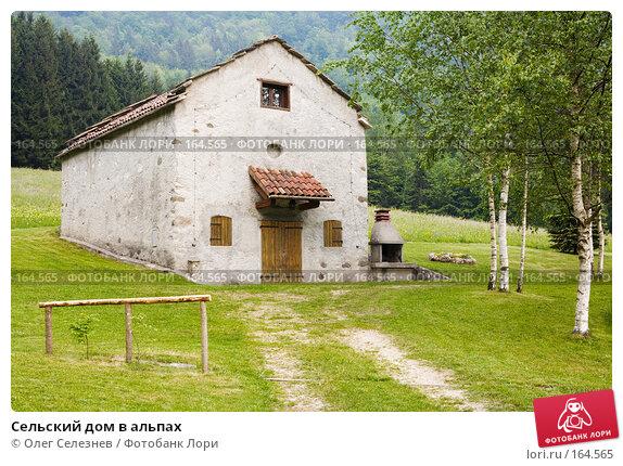 Сельский дом в альпах, фото № 164565, снято 11 мая 2007 г. (c) Олег Селезнев / Фотобанк Лори