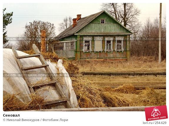 Сеновал, эксклюзивное фото № 254629, снято 6 апреля 2008 г. (c) Николай Винокуров / Фотобанк Лори