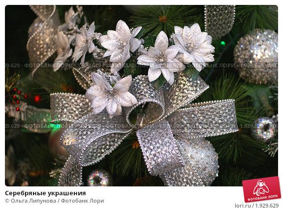 Серебряные украшения. Стоковое фото, фотограф Ольга Липунова / Фотобанк Лори