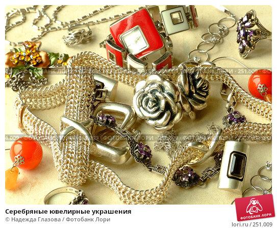 Серебряные ювелирные украшения, фото № 251009, снято 5 апреля 2008 г. (c) Надежда Глазова / Фотобанк Лори