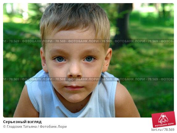 Купить «Серьезный взгляд», фото № 78569, снято 13 августа 2007 г. (c) Гладских Татьяна / Фотобанк Лори