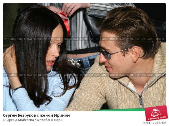 Сергей Безруков с женой Ириной, эксклюзивное фото № 215405, снято 4 декабря 2005 г. (c) Ирина Мойсеева / Фотобанк Лори