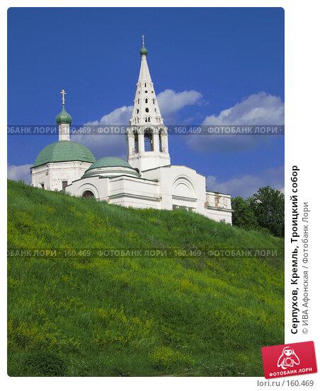 Купить «Серпухов, Кремль, Троицкий собор», фото № 160469, снято 28 июня 2006 г. (c) ИВА Афонская / Фотобанк Лори