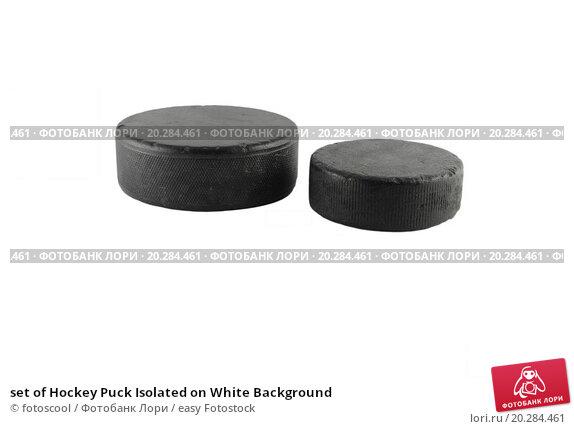 Купить «set of Hockey Puck Isolated on White Background», фото № 20284461, снято 20 августа 2011 г. (c) easy Fotostock / Фотобанк Лори