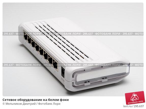 Сетевое оборудование на белом фоне, фото № 295637, снято 22 мая 2008 г. (c) Мельников Дмитрий / Фотобанк Лори