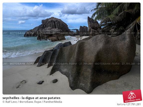 Купить «seychelles - la digue at anse patates», фото № 27791281, снято 20 октября 2018 г. (c) PantherMedia / Фотобанк Лори