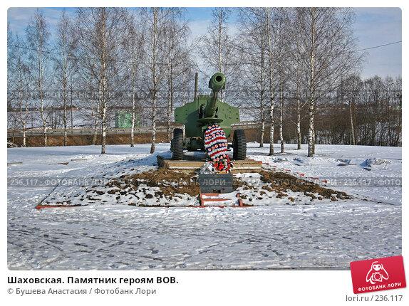 Шаховская. Памятник героям ВОВ., фото № 236117, снято 9 марта 2008 г. (c) Бушева Анастасия / Фотобанк Лори