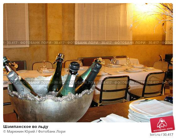 Шампанское во льду, фото № 30417, снято 6 декабря 2006 г. (c) Марюнин Юрий / Фотобанк Лори