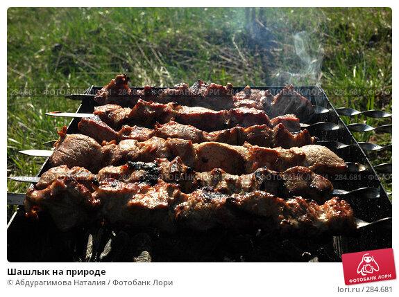 Шашлык на природе, фото № 284681, снято 27 апреля 2008 г. (c) Абдурагимова Наталия / Фотобанк Лори