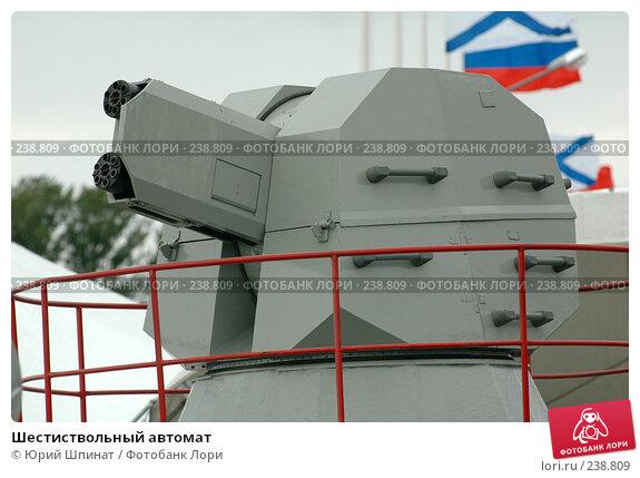 Шестиствольный автомат, фото № 238809, снято 28 июня 2007 г. (c) Юрий Шпинат / Фотобанк Лори