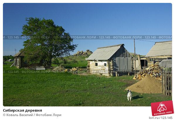Купить «Сибирская деревня», фото № 123145, снято 11 июня 2006 г. (c) Коваль Василий / Фотобанк Лори
