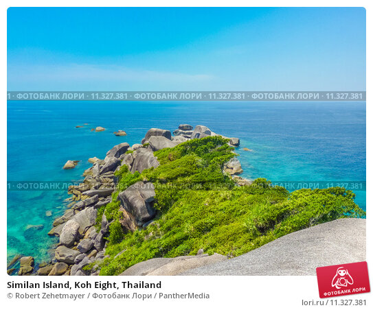 Купить «Similan Island, Koh Eight, Thailand», фото № 11327381, снято 4 декабря 2019 г. (c) PantherMedia / Фотобанк Лори