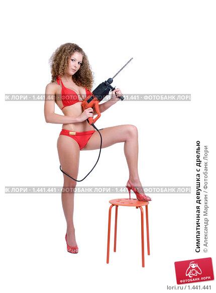 налог девушки с инструментом фото ню головогруди
