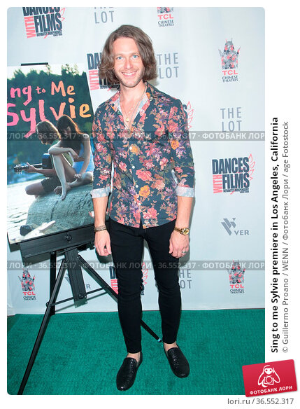 Sing to me Sylvie premiere in Los Angeles, California. Редакционное фото, фотограф Guillermo Proano / WENN / age Fotostock / Фотобанк Лори