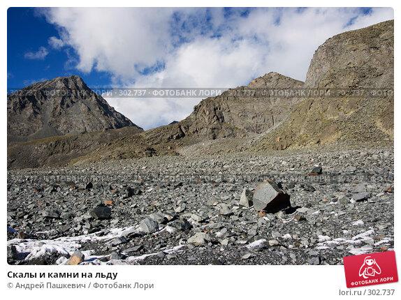 Скалы и камни на льду, фото № 302737, снято 19 января 2017 г. (c) Андрей Пашкевич / Фотобанк Лори
