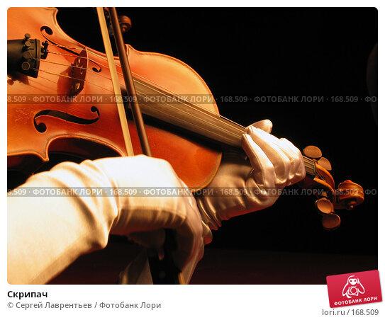 Скрипач, фото № 168509, снято 14 марта 2003 г. (c) Сергей Лаврентьев / Фотобанк Лори