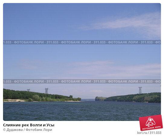 Слияние рек Волги и Усы, фото № 311033, снято 29 июня 2004 г. (c) Дудакова / Фотобанк Лори
