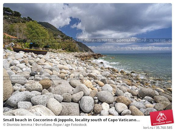 Small beach in Coccorino di Joppolo, locality south of Capo Vaticano... Стоковое фото, фотограф Dionisio Iemma / age Fotostock / Фотобанк Лори