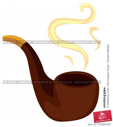 smoking pipe. Стоковая иллюстрация, иллюстратор Matthew Cole / PantherMedia / Фотобанк Лори