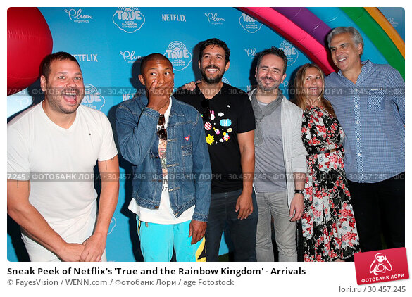 Sneak Peek of Netflix's 'True and the Rainbow Kingdom' - Arrivals (2017 год). Редакционное фото, фотограф FayesVision / WENN.com / age Fotostock / Фотобанк Лори