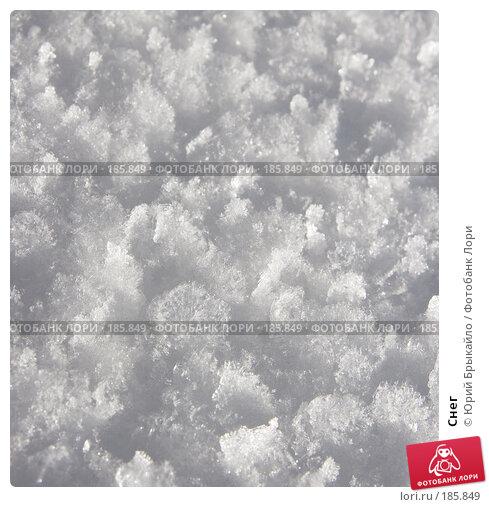 Купить «Снег», фото № 185849, снято 3 января 2008 г. (c) Юрий Брыкайло / Фотобанк Лори