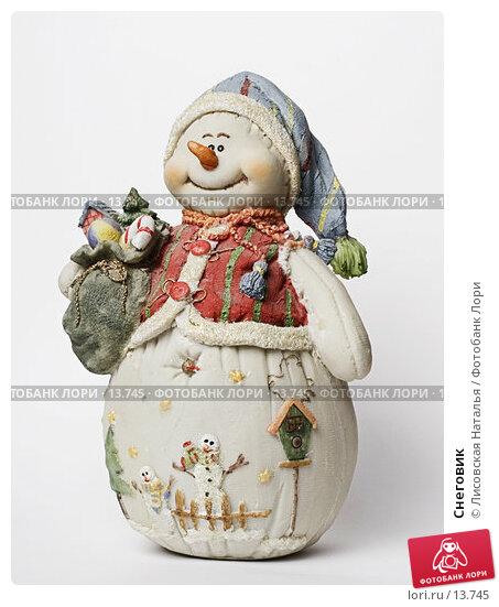 Купить «Снеговик», фото № 13745, снято 30 ноября 2006 г. (c) Лисовская Наталья / Фотобанк Лори