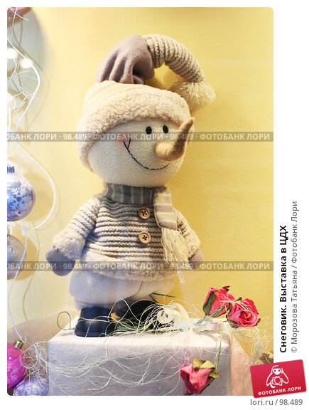Снеговик. Выставка в ЦДХ, фото № 98489, снято 14 сентября 2007 г. (c) Морозова Татьяна / Фотобанк Лори