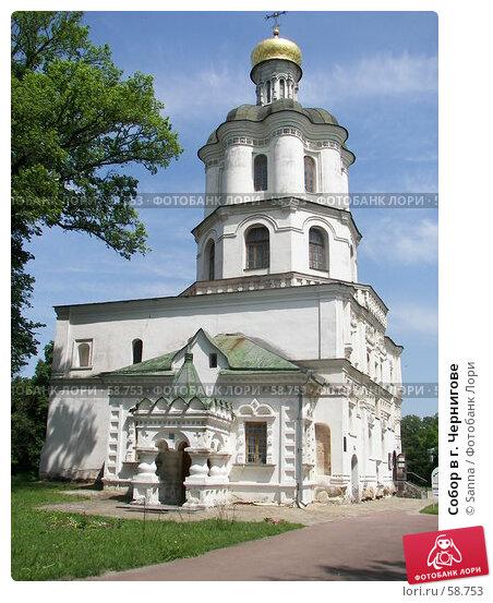 Купить «Собор в г. Чернигове», фото № 58753, снято 31 мая 2007 г. (c) Sanna / Фотобанк Лори