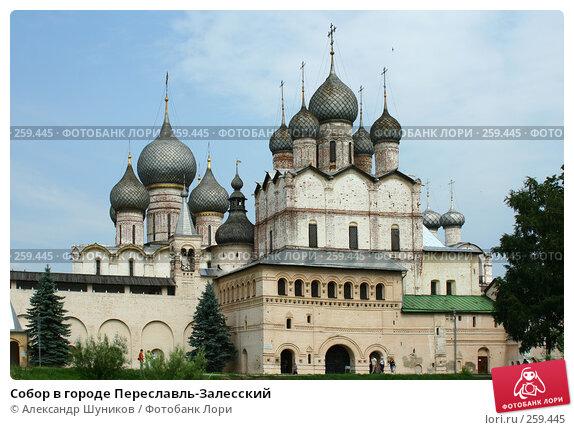 Собор в городе Переславль-Залесский, фото № 259445, снято 15 июля 2006 г. (c) Александр Шуников / Фотобанк Лори