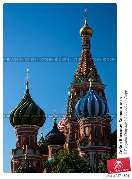Собор Василия Блаженного, фото № 171801, снято 23 июня 2007 г. (c) Петухов Геннадий / Фотобанк Лори