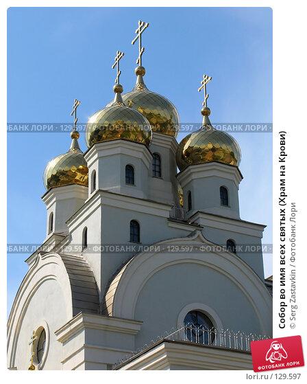 Собор во имя всех святых (Храм на Крови), фото № 129597, снято 3 июня 2005 г. (c) Serg Zastavkin / Фотобанк Лори
