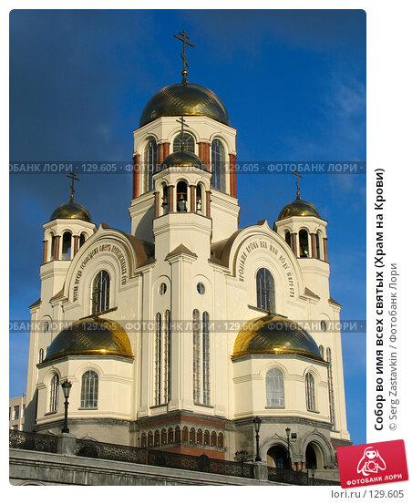 Собор во имя всех святых (Храм на Крови), фото № 129605, снято 7 июня 2005 г. (c) Serg Zastavkin / Фотобанк Лори