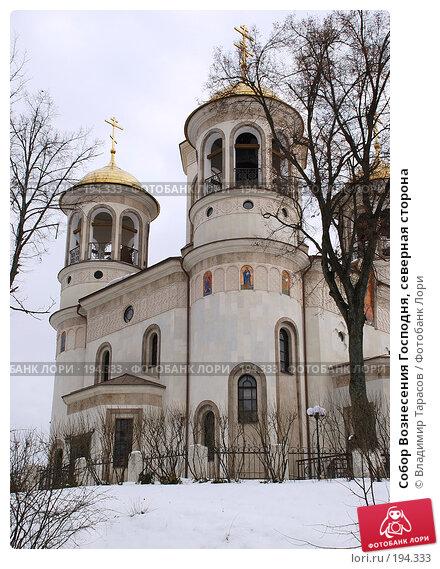 Собор Вознесения Господня, северная сторона, фото № 194333, снято 21 ноября 2007 г. (c) Владимир Тарасов / Фотобанк Лори