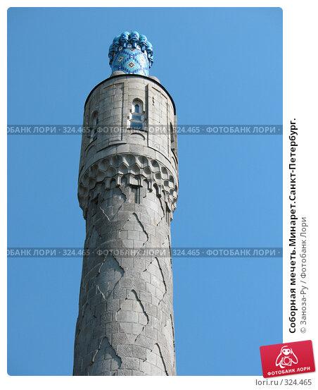 Соборная мечеть.Минарет.Санкт-Петербург., фото № 324465, снято 12 июня 2008 г. (c) Заноза-Ру / Фотобанк Лори