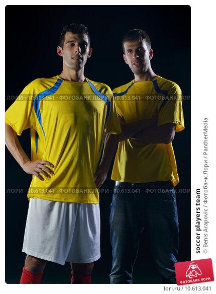 soccer players team. Стоковое фото, фотограф benis arapovic / PantherMedia / Фотобанк Лори